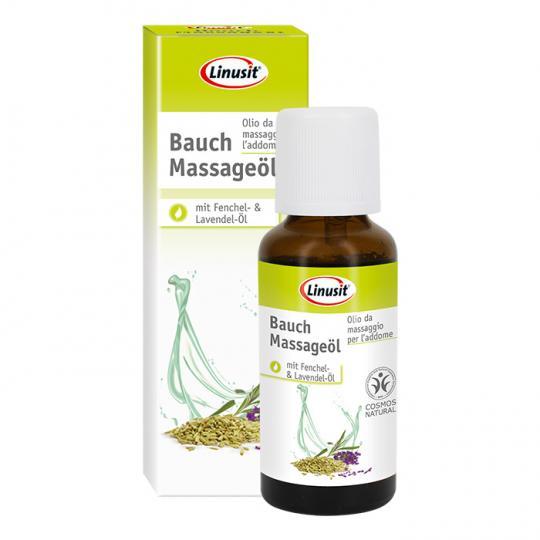 Bauch Massageöl